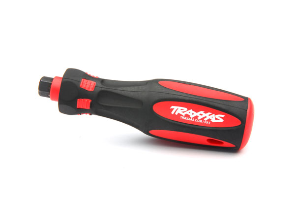 "Traxxas Speed Bit Premium Large 1/4"" Drive Handle with Rubber Overmold (8720)"