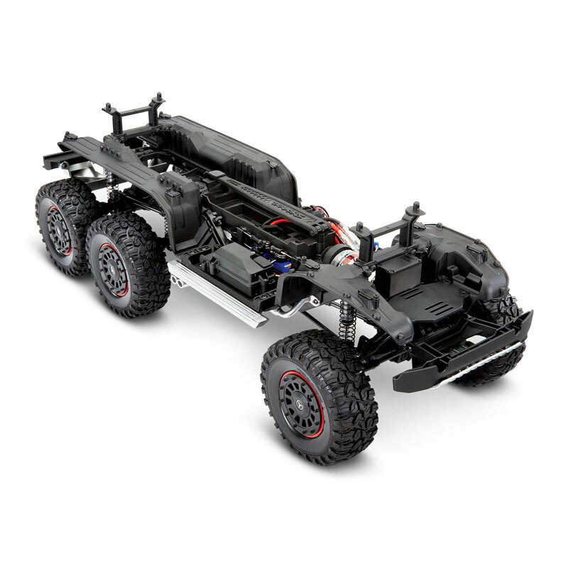 Traxxas TRX-6 Mercedes-Benz G63 6x6 Chassis from Front Right