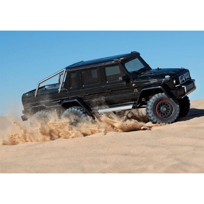 Traxxas TRX-6 Mercedes-Benz G63 6x6 High Speed Dune Run Sand Flying