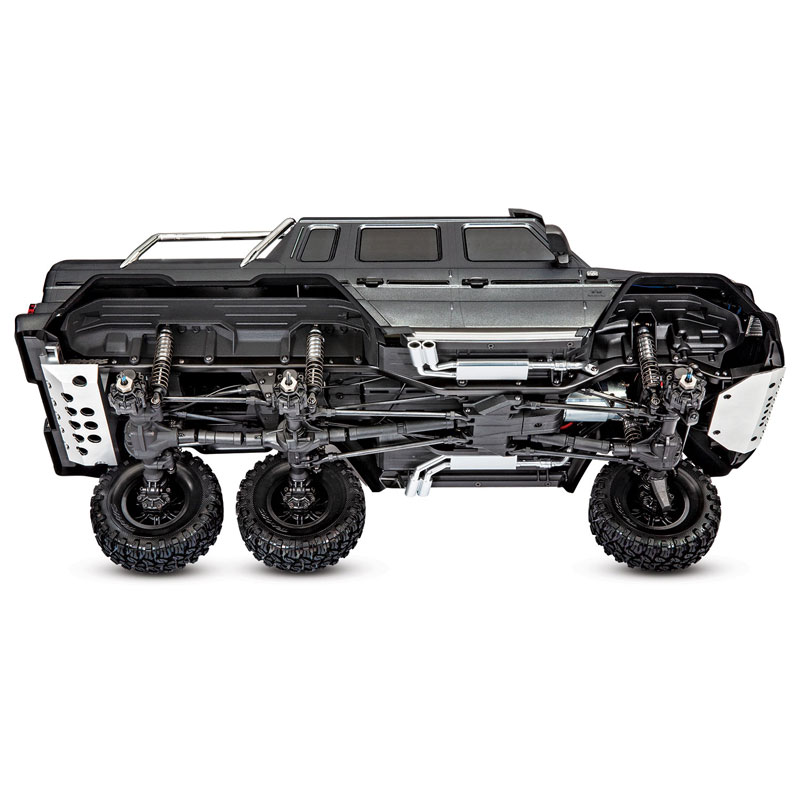 Traxxas TRX-6 Mercedes-Benz G63 6x6 Chassis Bottom Side View