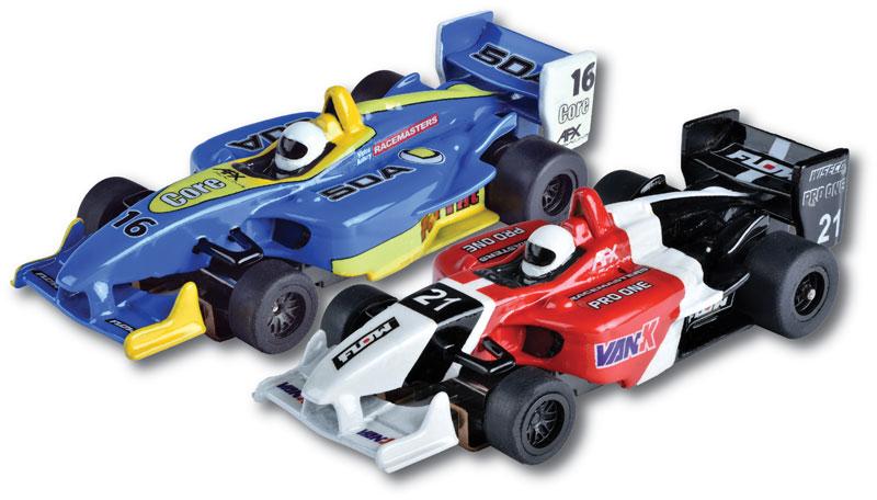 AFX Formula Two-Pack Mega G+ HO Slot Cars (22017)