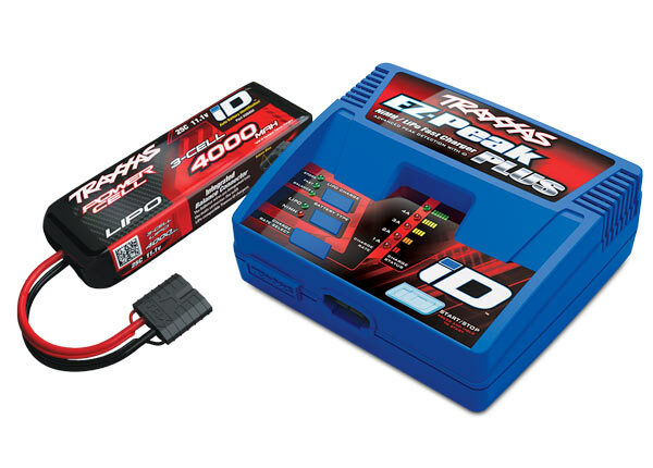 Traxxas EZ-Peak ID Charger & 3S 4000mAh LiPo Battery Completer (2994)