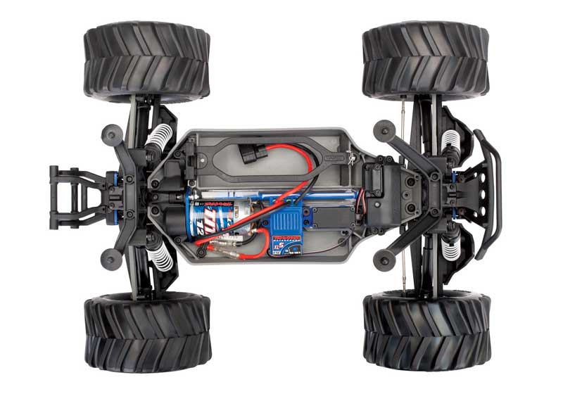 Traxxas Stampede 4x4 XL-5 Builder's Kit with TQ Electronics (67014-4)