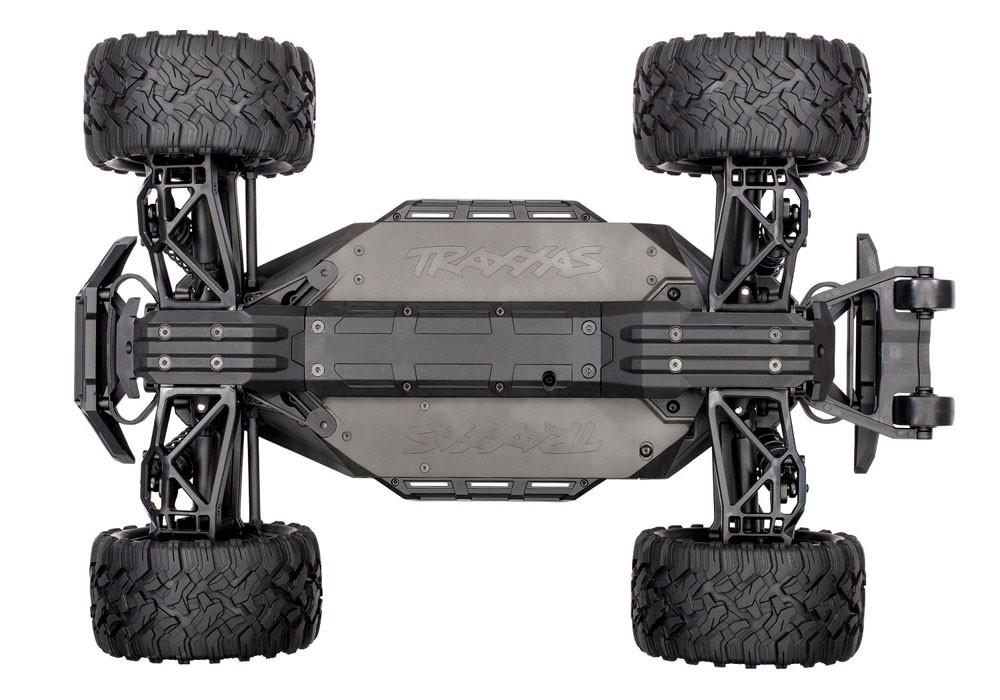 Traxxas Maxx 4S RTR 4x4 Off-Road RC Monster Truck with 4S LiPo & Charger Combo Package