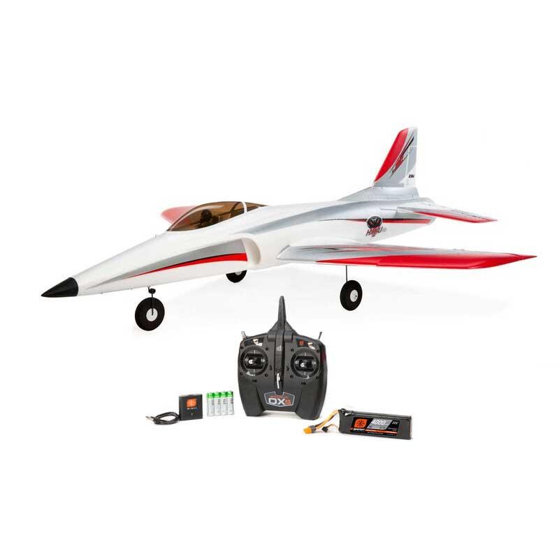 E-Flite Habu STS 70mm EDF Smart Jet RTF w/RealFlight Trainer Simulator (EFL01500)