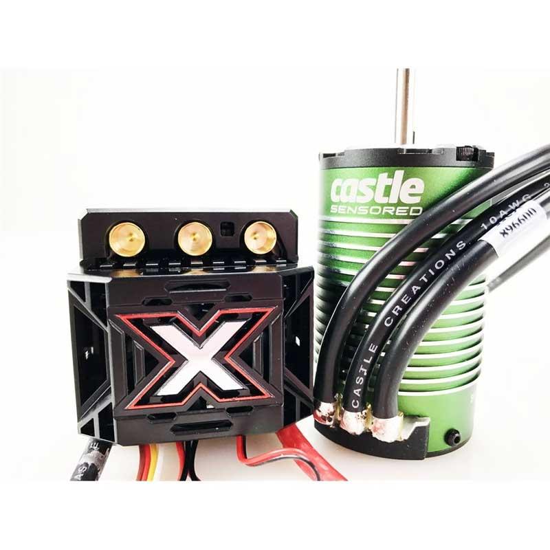 Castle Creations 1/8 Mamba Monster X ESC w/2200KV Sensored Brushless Motor (010-0145-03)