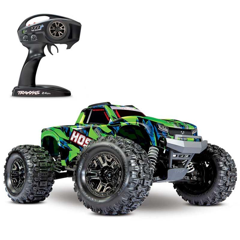 Traxxas Hoss 4x4 VXL Brushless Monster Truck with Green Body (90076-4)