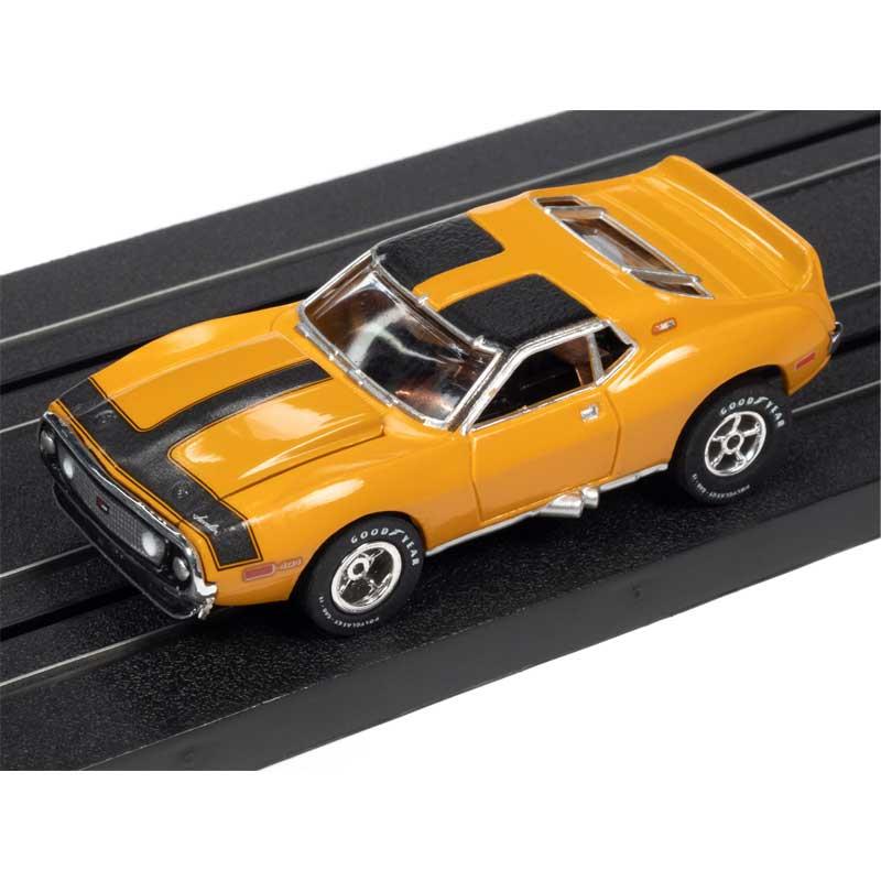 Auto World 1971 AMC Javelin Mustard Xtraction R30 HO Slot Car (SC354-3)