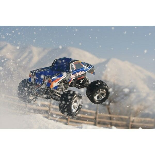 Traxxas Stampede XL-5 2WD RTR RC Truck w/ID Battery & Quick Charger (36054-1)