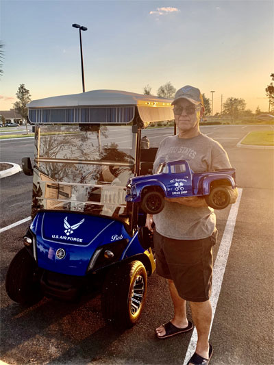 RC Superstore Giveaway 5 Winner Bob H. in Florida