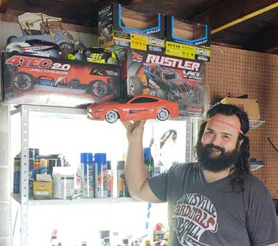 RC Superstore Giveaway 3 Traxxas 4-Tec Ford Mustang Winner Logan S
