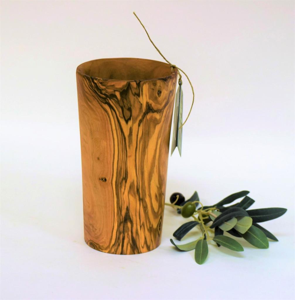 Olive Wood Kitchen Tool Holder