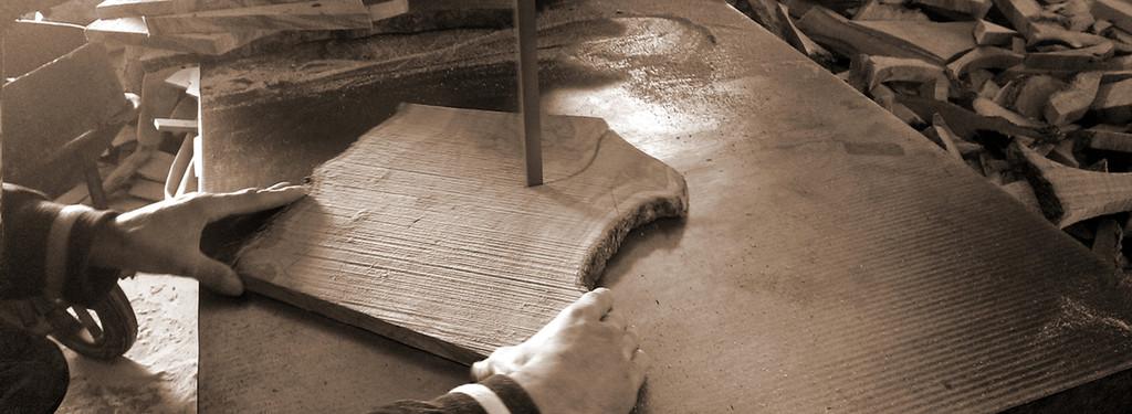 Olive Wood Honey Dipper