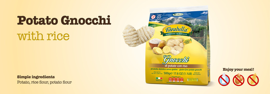 Farabella Gluten Free Potato Gnocchi 12oz