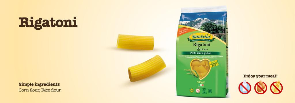 Gluten Free Rigatoni 17.6 oz