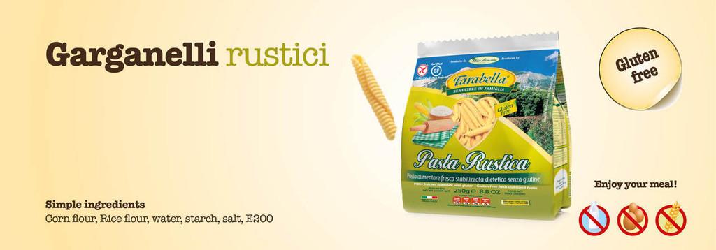 Gluten Free Garganelli 8.8oz