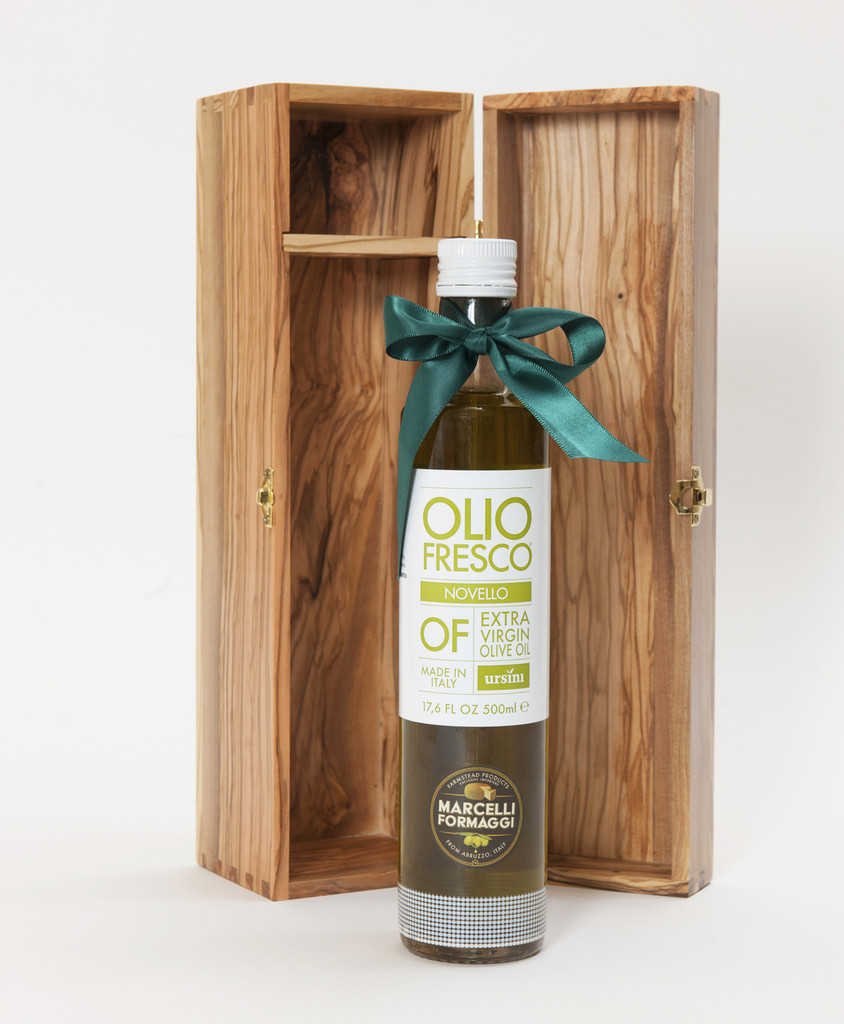 PRE ORDER 2019 Olio Fresco with Keepsake Olive Wood Box