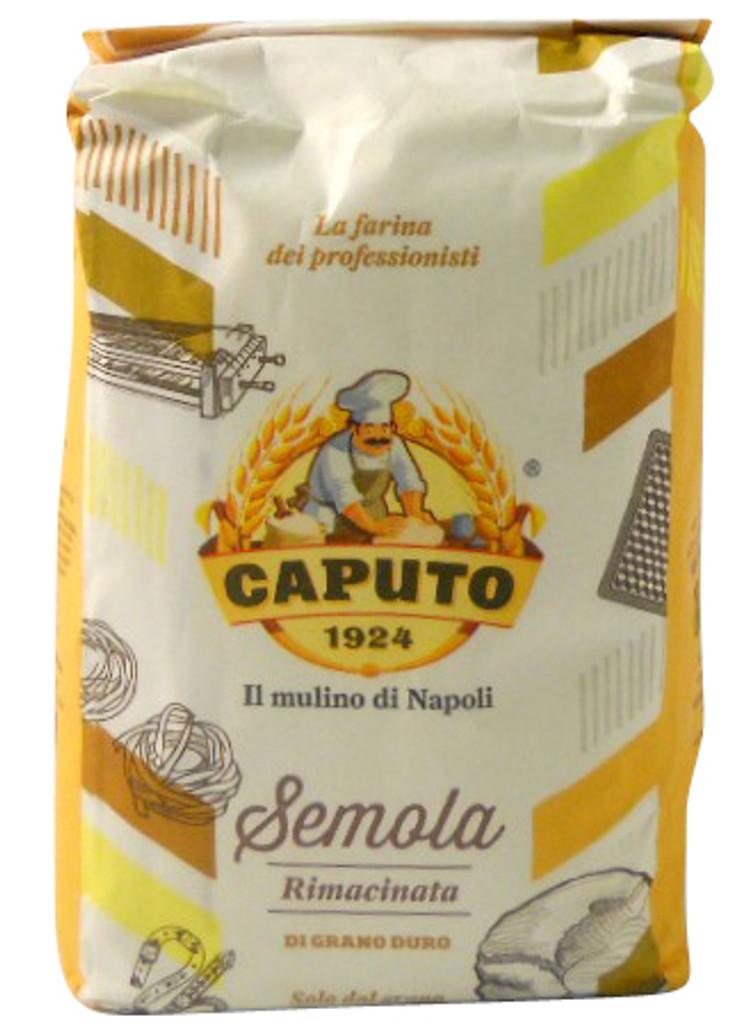 Caputo Semolina Di Grano Duro Rimacinata Semolina Flour 2.2LB (1kg)