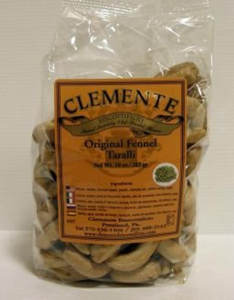 Clemente Original Fennel Taralli  8.8 oz