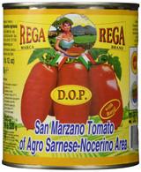 Rega San Marzano Whole Peeled Italian DOP Tomatoes 28 oz.