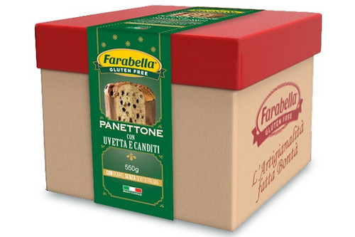 2019 Gluten Free Panettone with Raisins and Candied Fruit