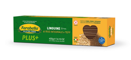 GLUTEN FREE BROWN RICE AND TEFF LINGUINE 14oz
