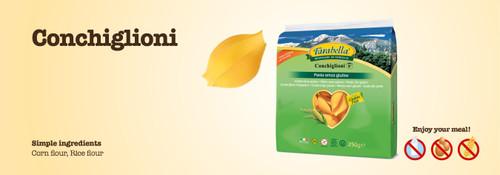 Farabella Gluten Free Conchiglioni 8 oz