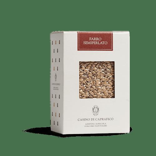 CASINO DI CAPRAFICO WHOLE FARRO, ITALY 500G 1.1 LBS