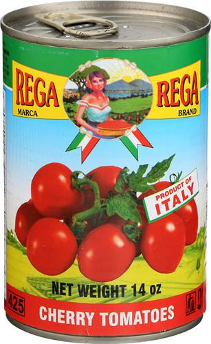 Rega Cherry Tomatoes 14 oz can
