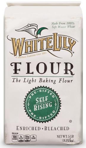 White Lily Self Rising Flour 5 lbs