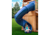 Studio shot of Blue Super Tube Slide from PlayNation Play Systems.