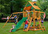 Lifestyle front view of Chateau Play Set from PlayNation