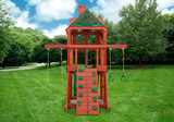 Alternate side view of Five Star Space Saver Play Set from PlayNation