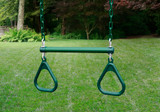 Lifestyle shot of Trapeze Bar Assembly with Rings