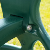 Close up shot of  the Double Glider Swing connector bolt from PlayNation.