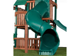 Lifestyle shot of Tunnel Twister Tube Slide from PlayNation Play Systems