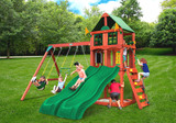 Lifestyle view of Playmaker Deluxe Play Set from Playnation play systems.