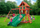 Lifestyle view of Adventure Wave Play Set from Playnation play systems.