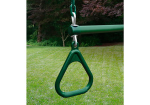 "17"" Trapeze Bar Assembly with Rings"