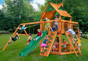 Outside front view of Navigator Play Set from Playnation