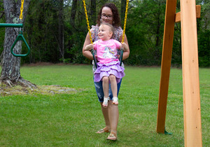 Nothing brings the family together like the Great Skye II swing set from PlayNation