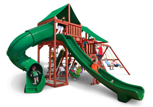 Studio shot of Sun Valley Deluxe Playset from PlayNation.
