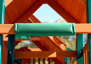Green Swing Set Safety Pad from Playnation.