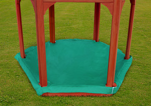 Lifestyle view of Play-Zee-Bo Replacement Sandbox Cover from PlayNation.