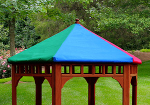 Lifesstyle view of Play-Zee-Bo Replacement Multi-Colored Tarp from PlayNation.