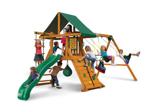 Studio front view of High Point Play Set from Playnation