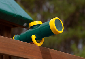 Lifestyle view of Telescope with Compass from PlayNation Play Systems.