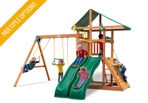 Studio view of Outing w/ Dual Slide Play Set from Playnation