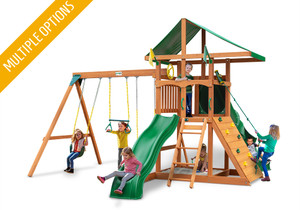 Studio view of Outing II w/ Tube Slide Play Set from Playnation