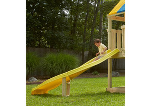 Lifestyle view of Side Winder Slide from PlayNation Play Systems.